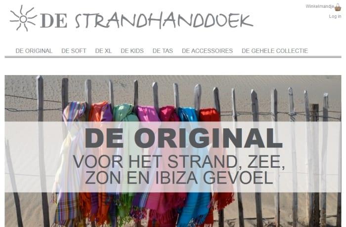 De Strandhanddoek – fashion webshop