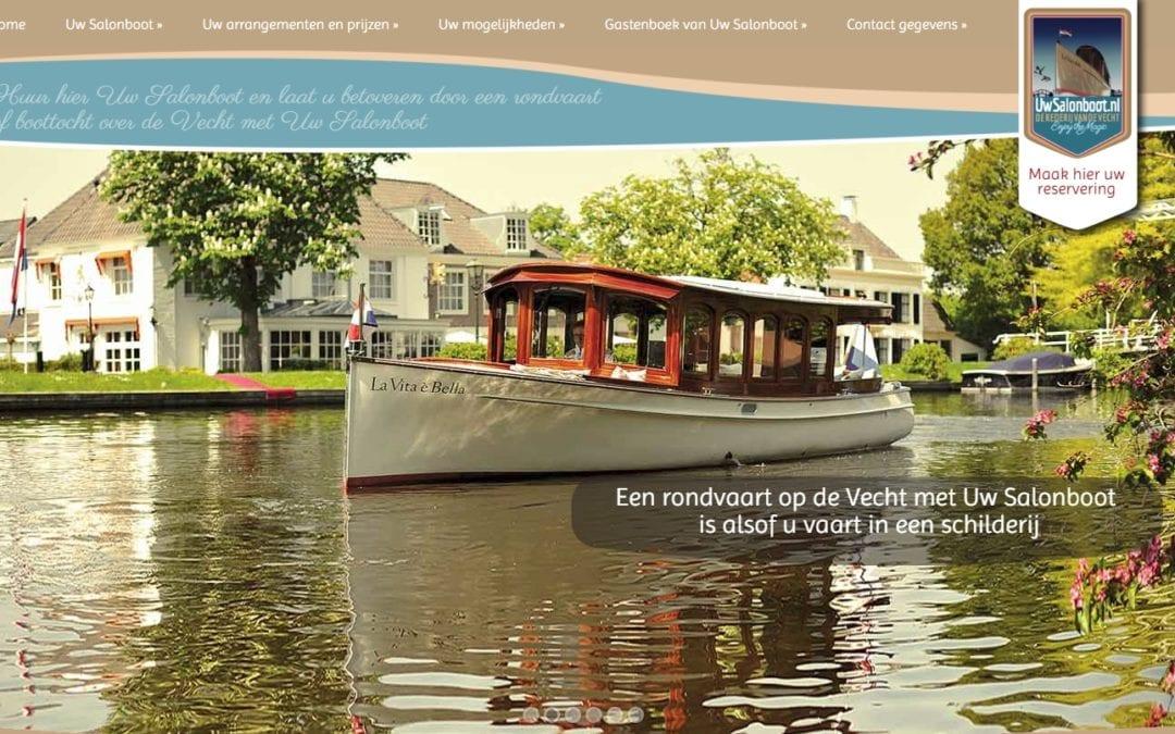Uw Salonboot – Travel en horeca website