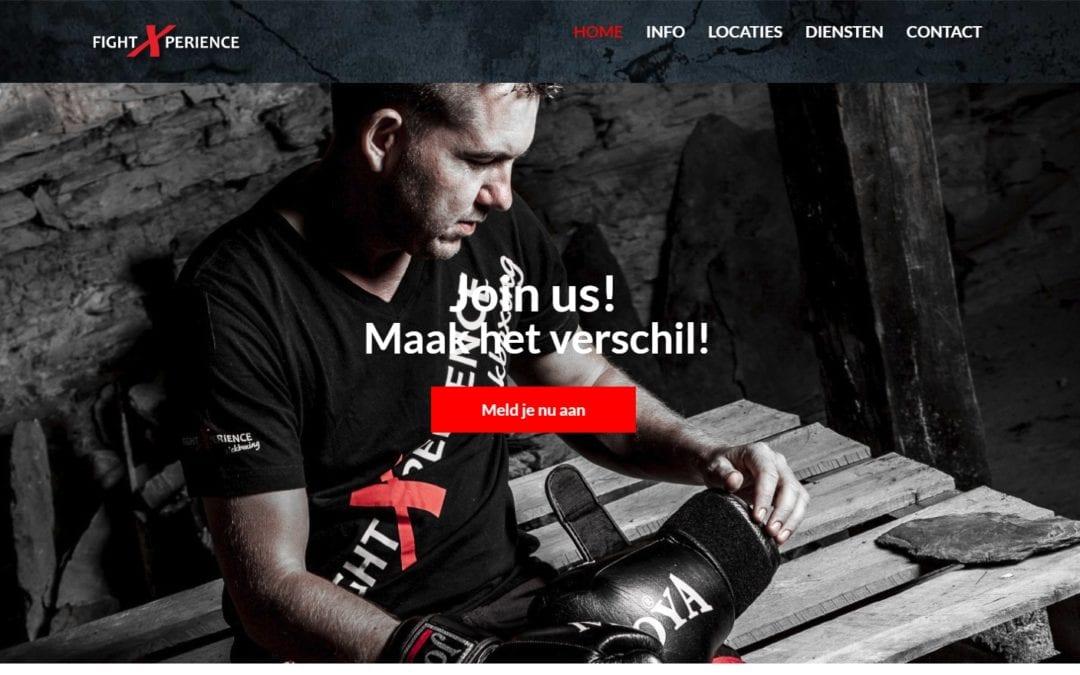 FightXperience – website voor sportschool – redesign