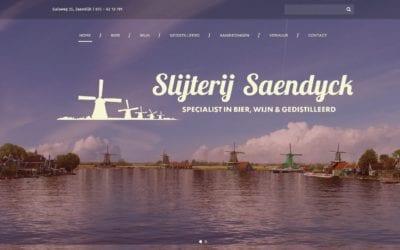 Slijterij Saendyck – website