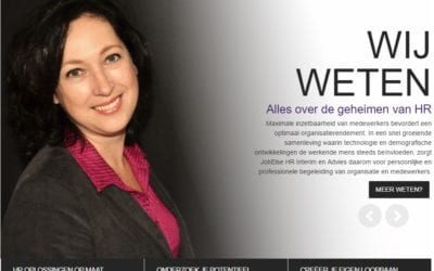Jobelse – website voor HR interim en advies
