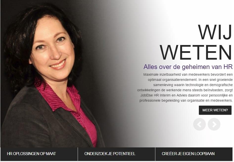 Jobelse - website voor HR interim en advies