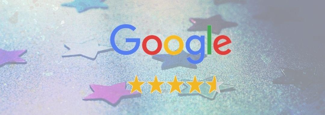 Sterretjes in Google