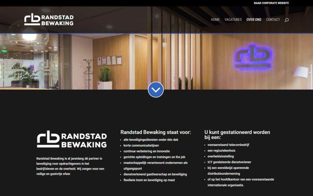 Werken bij Randstad Bewaking – een vacature site